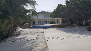 Front view facing Intracoastal