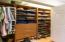 Built in closet cabinetry