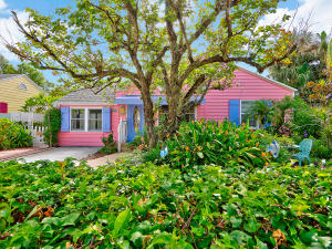 Lovely Home and Guest Cottage in Artsy Pineapple Grove Downtown Delray Beach