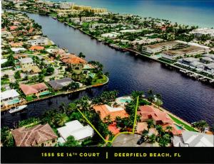 180 Ft Waterfront Point Lot Direct Intercoastal Waterway Property