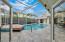 Silver Travertine Pool Decking
