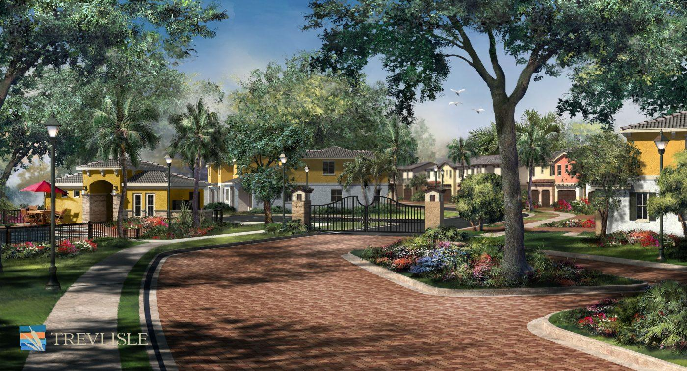 New Construction!! Beautiful, Gated Enclave Of Only 50 Luxury Townhomes  Ideally Located In Palm Beach Gardens. Solid CBS Construction With Full  Impact ...