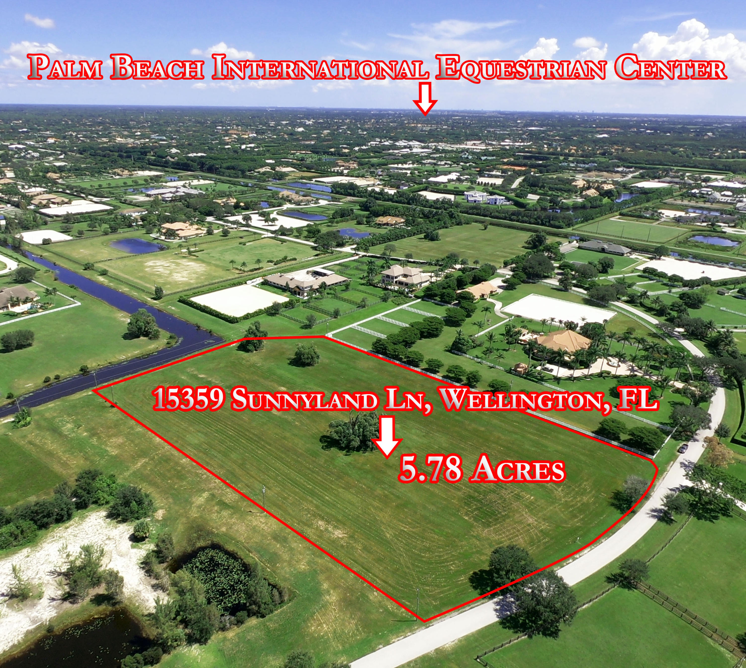 15359 Sunnyland Lane, Wellington, Florida 33414, ,Land,For Sale,Palm Beach Point,Sunnyland,RX-10464370