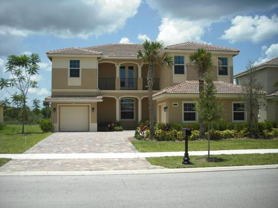 THE ESTATES OF TRADITION IN PORT SAINT LUCIE * GORGEOUS 2 STORY MEDITERRANEAN STYLE LAKE FRONT HOME! EVERGLADES MODEL, GRANITE KITCHEN WITH ISLAND AND PLENTY OF CABINET SPACE, BARREL TILE ROOF, HIGH IMPACT WINDOWS, SPACIOUS DINING, LIVING, FAMILY ROOM, LARGE OFFICE/5TH BEDROOOM, AND LOFT AREA. MASTER BEDROOM WITH ADJACENT OFFICE SPACE, LARGE DOUBLE WALK-IN CLOSETS, LIVING AREA HAS CERAMIC TILES. MOTIVATED SELLER. THE ESTATES OF TRADITION IN PORT SAINT LUCIE * GORGEOUS 2 STORY MEDITERRANEAN STYLE LAKE FRONT HOME! EVERGLADES MODEL, GRANITE KITCHEN WITH ISLAND AND PLENTY OF CABINET SPACE, BARREL TILE ROOF, HIGH IMPACT WINDOWS, SPACIOUS DINING, LIVING, FAMILY ROOM, LARGE OFFICE/5TH BEDROOOM, AND LOFT AREA. MASTER BEDROOM WITH ADJACENT OFFICE SPACE, LARGE DOUBLE WALK-IN CLOSETS, LIVING AREA HAS CERAMIC TILES.  TRADITION PORT SAINT LUCIE FLORIDA