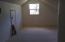 Upstairs BR, w/door to attic