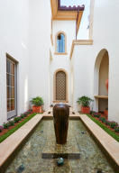 Fountain off Dining Room