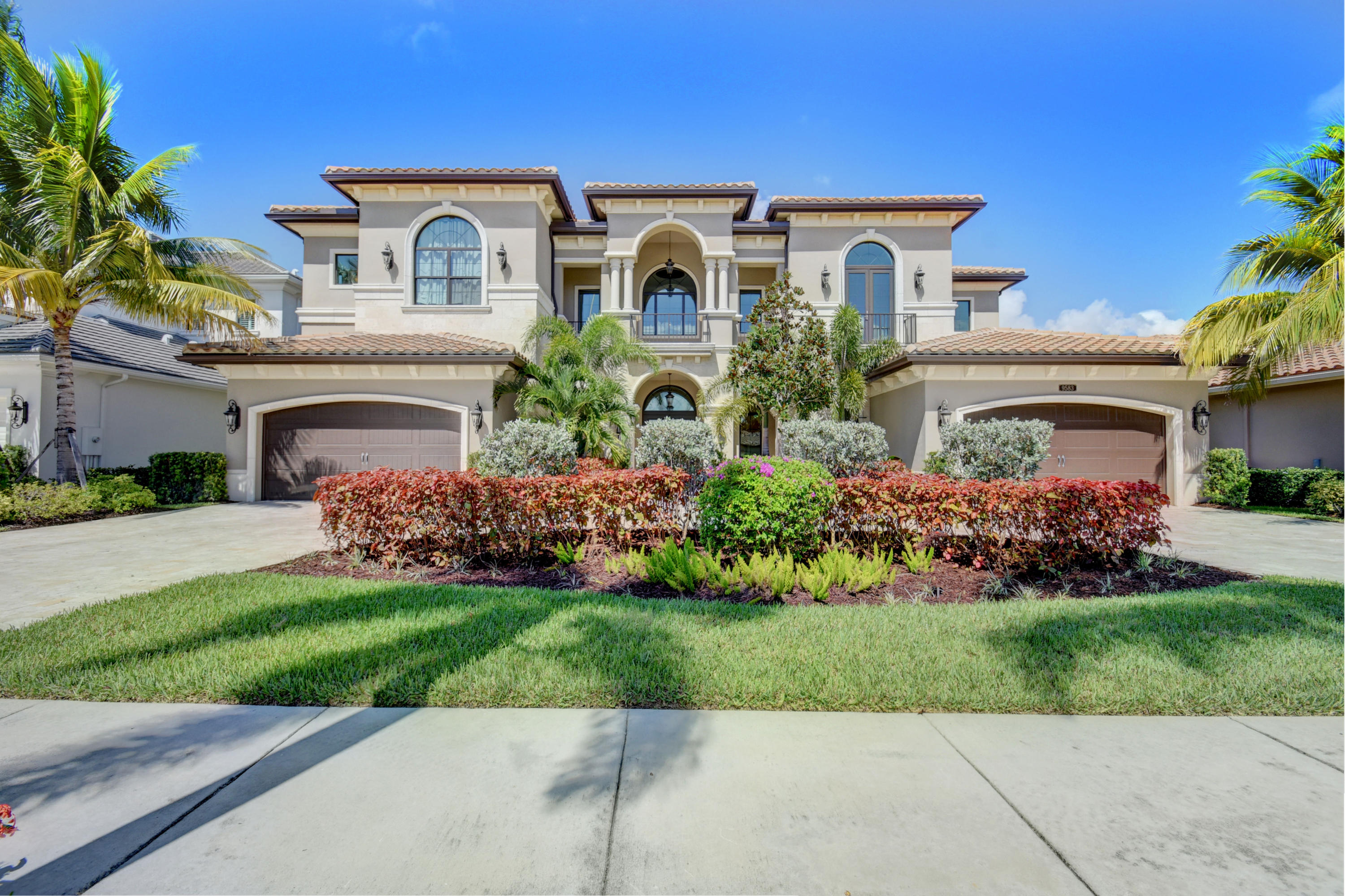 BREATHTAKING PALAZZO MODEL  SITUATED ON 1/3  OF AN ACRE OF FENCED IN PROPERTY.  AMAZING VIEWS FROM EVERY WINDOW. NO REAR NEIGHBORS!   BEAUTIFUL LAKE LOT W  HEATED POOL & JACUZZI.  THE  SUMMER KITCHEN MAKES THIS HOME AN ENTERTAINER'S DREAM. MAJESTIC CIRC DRIVEWAY W MARBLE PAVERS WHICH EXTEND THRUOUT THE PROPERTY.  MOVE RIGHT INTO THIS 6 BR, 6 FULL & 2 HALF BTH HOME. GOURMET KITCHEN WHICH INCLUDES  2 WOLF OVENS,  GAS STOVE W GRILLE!  OVERSIZED HOOD, 2 DISHWASHERS, BUILT IN WOLF ESPRESSO MAKER ! ETCHED GLASS FRONT DOOR.   CLUB ROOM W BAR & WINE FRIG., THEATER ROOM W/5 CHAIRS!  2 LAUNDRY RMS., CUSTOM CLOSETS, MARBLE FLOORS! UPGRADED WOOD FLOOR STAIRCASE & BANNISTER! IMPACT GLASS! CROWN MOLDING! CEN VAC! HUGE MASTER BR INCLUDES  CAL. CLOSETS!  TERRACE! MASTER BTH W/ HIS & HER TOILETS!CLICK  MOR HERE IS YOUR OPPORTUNITY TO HAVE COUNTRY CLUB LIVING W/OUT COUNTRY CLUB FEES. EXPERIENCE THE TREMENDOUS LIFESTYLE & ENJOY ALL THE AMENITIES THAT THE SEVEN BRIDGES HAS TO OFFER. SEVEN BRIDGES IN DELRAY BEACH IS THE ULTIMATE LUXURY COMMUNITY THAT HAS IT ALL.  ONE OF FLORIDA'S MOST ELEGANT NEIGHBORHOODS. THERE IS A BREATHTAKING ENTRY, GORGEOUS RESIDENCES & WORLD CLASS AMENITIES.  BEAUTIFUL STATE OF THE ART 30,000 SQUARE FT.  CLUBHOUSE WHICH HAS AN ON SITE RESTAURANT, RESORT STYLE POOLS, GYM, INDOOR AND OUTDOOR BASKETBALL COURT, 13 TENNIS COURTS WITH AN ON SIGHT TENNIS PRO. WATER PARK! EXERCISE CLASSES ARE INCLUDED IN HOA! RELAX IN SAUNAS AND MASSAGE ROOM. GREAT SCHOOLS! MINUTES FROM DELRAY MARKETPLACE AND BEACHES!
