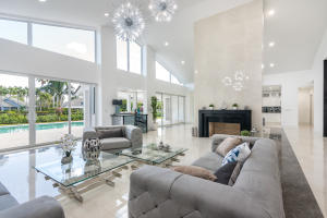Dramatic open living spaces and a contemporary aesthetic throughout.