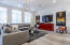 Large, bright family room.