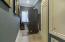 Spacious utility room.