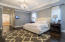 Huge master suite.