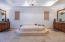 Huge master bath, spacious for his and her.