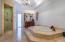 Large master tub.