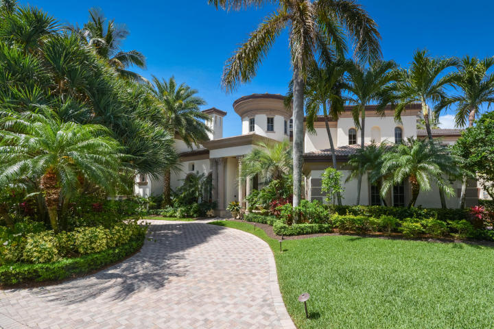"""DRAMATIC PRICE REDUCTION!!!! BEST VALUE ON THE WATER!!!! Quintessential South Florida living: a stunning waterfront villa, overlooking a private marina, offers dockage suitable to accommodate a large yacht. Located in charming Highland Beach, within a 24hr guard gated community, this courtyard residence embodies everything the truly discerning homeowner could desire. Comprising 9,880 a/c sq.ft. and over 12,800 total sq.ft. this spectacular estate sits on an oversized lot of nearly 1/2 acre and is the ideal setting for lavish entertainment or intimate gatherings. Specifics include 6 expansive bedroom suites, highlighted by a sumptuous master floor, 7.2 baths, a large gourmet kitchen with a 14' center island, formal dining room, his and her offices with beautiful built in cabinetry and a plush theatre with 8 reclining Italian leather seats. Enjoy the newly renovated beach club or take a sunset stroll by the ocean. Parking that easily accommodates a dozen vehicles help make this elegant home the rarest of """"east side"""" gems. Characterized by dramatic interiors and appointments of uncompromising quality throughout, this estate is the slice of paradise you have earned. Best of all, now priced to sell fast at only $420/sqft, this home represents the BEST VALUE available anywhere on the water."""