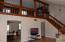 Living Room, view of loft