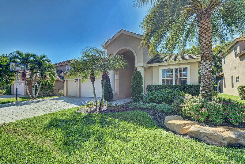Beautifully updated 4 bedroom, 3 bath home in the highly sought after neighborhood of Boca Falls. Upgrades include granite counters, custom cabinetry, top of the line appliances, glass tile back splash, pull out drawers, marble & wood flooring, water filtration system, fitted closets, Plantation shutters, custom light fixtures & window treatments, added storage, elegant bar with wine fridge, screened in heated, salt water pool with waterfall & swim up bar. Boca Falls is a lovely guard gated community zoned for West Boca's best schools. Amenities include a state of the art fitness center, party room, Olympic size pool, kiddie pool, playground, basketball, 6 tennis courts & on-site management. Walk to South County Regional Park.