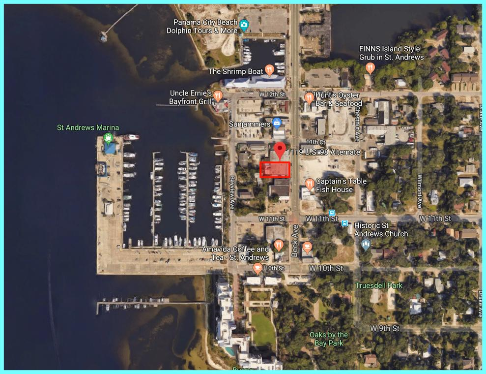 Rare opportunity to own a piece of Panama City's downtown within walking distance to St. Andrew's marina and Uncle Ernie's.  Huge bayfront redevelopment underway after Hurricane Michael.  Panama City will come back better and stronger than ever.   Flexible Seller willing to engage with enthusiastic Buyers from all over the region.  Don't miss out on Panama City's revival.