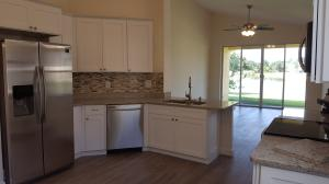 All NEW, spacious eat-in kitchen opens to family room.