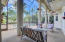 Expansive 58' x 19' Screened Patio - 4 Solid Cast Columns