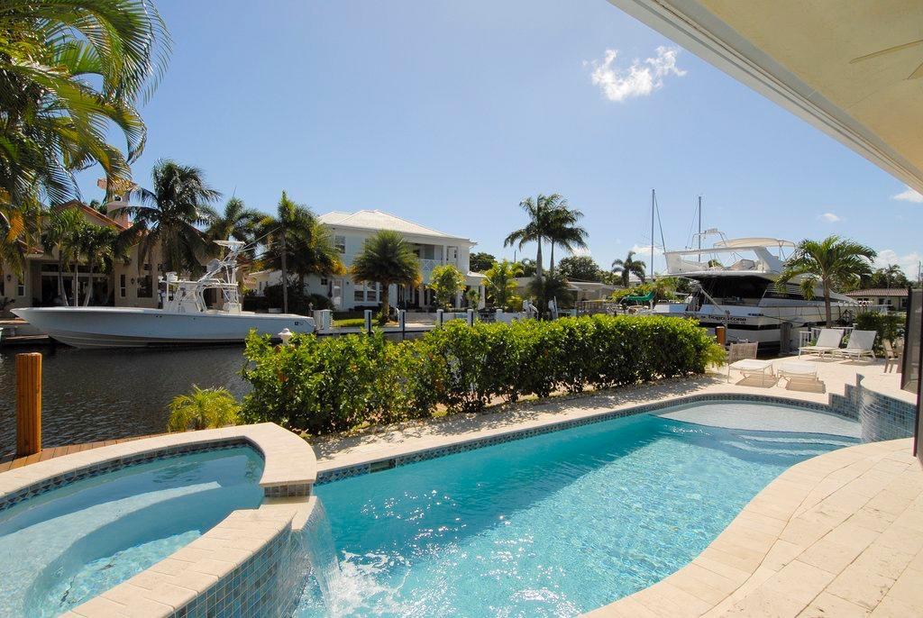 Waterfront Pool & Spa