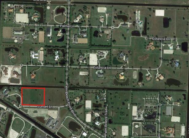 15635 Sunset Lane, Wellington, Florida 33414, ,Land,For Sale,palm beach point,Sunset,RX-10478535