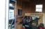 Interior of Workshop/Shed, lots of room. Electric.