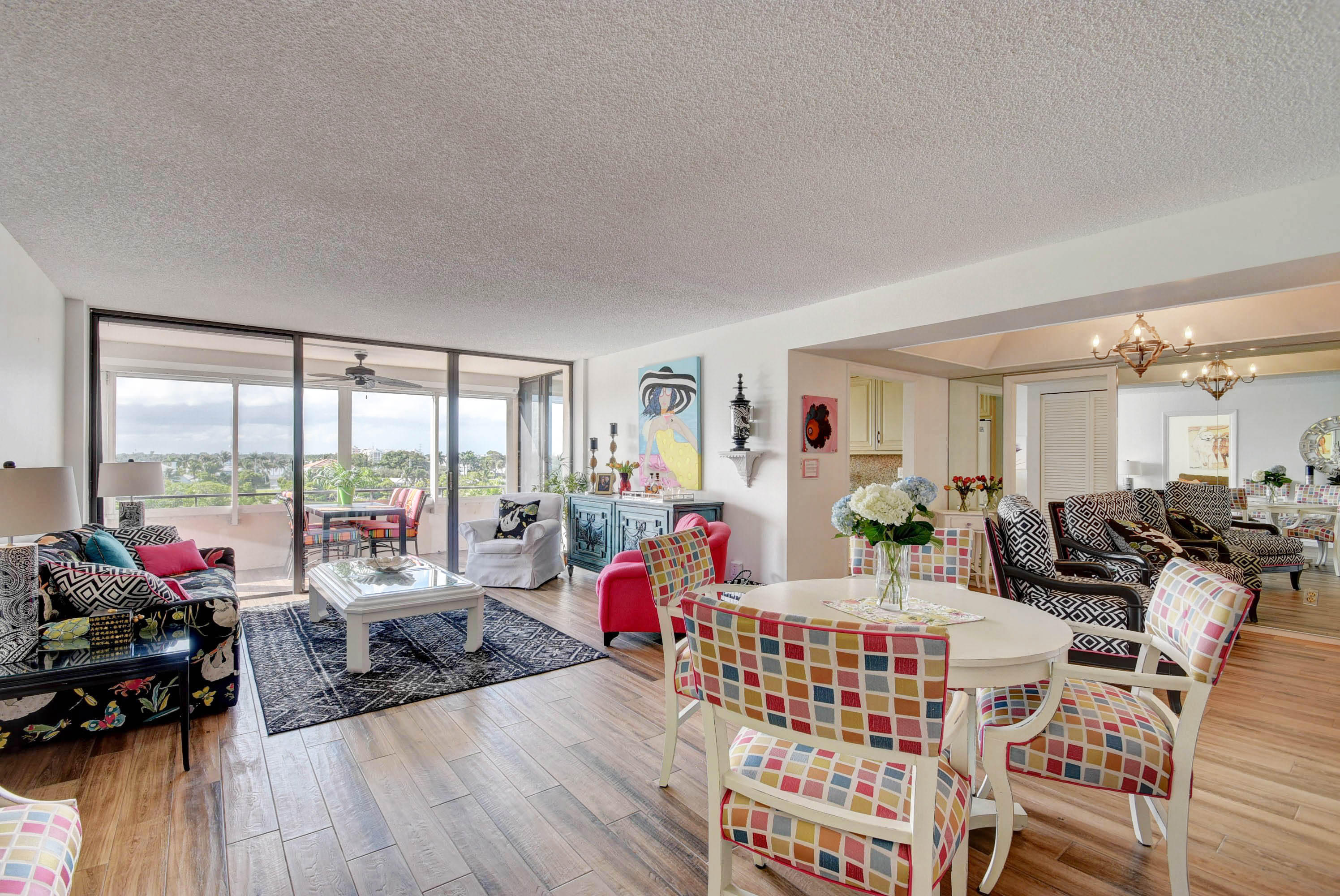 Unit Entry with Gorgeous View