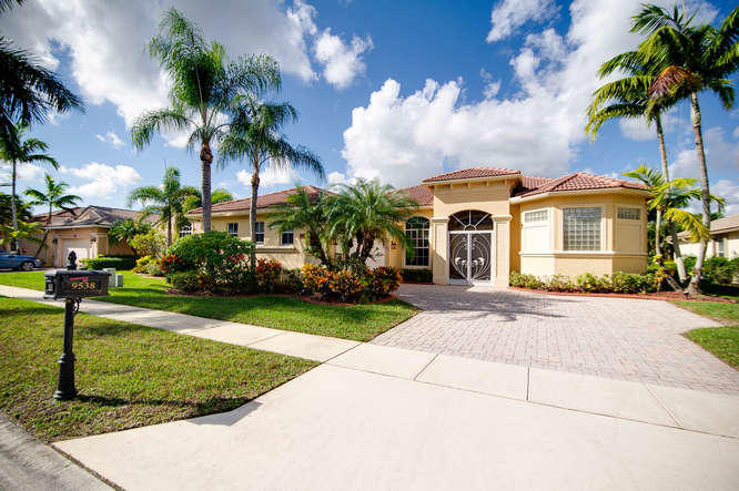 Home for sale in Baywinds, The Estates West Palm Beach Florida