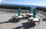 Picnic area with gas grills and tables