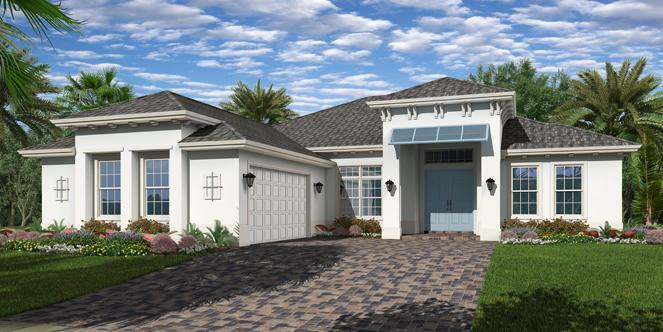 This GHO Home is the ever popular ''Tacoma'' plan including the West Indies elevation. Located in Lake Sapphire, a natural gas community in the heart of Vero Beach. This home will be move in ready Summer 2019. Great open layout with both formal and informal dining. Some of the outstanding features including tankless gas water heater, spray foam attic insulation, double impact entry doors with 3/4 cord glass, 8' solid core interior doors, home wired security system, and wood floor pattern tile flooring. The gourmet kitchen presents large central island, granite counter tops, 36'' gas cooktop, stainless steel vented hood, steam dishwasher, wall oven including convention/microwave and under cabinet lighting. This home also offers private pool, travertine pavers and screen enclosure