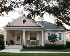 Lovely single level home with wide porch.