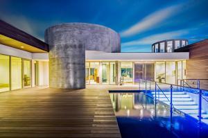 Twilight Pool Deck