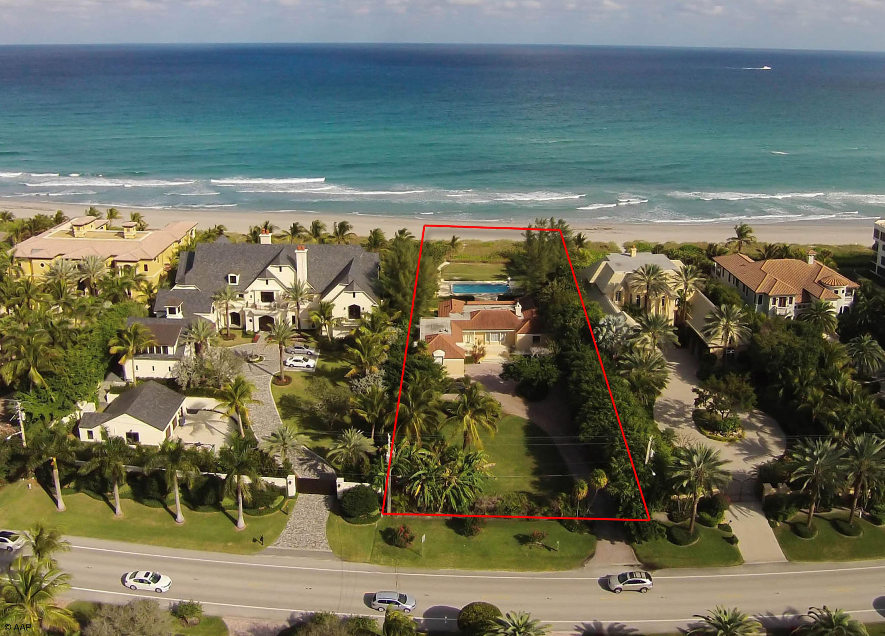 2475 Ocean Boulevard, Highland Beach, Florida 33487, ,Land,For Sale,Ocean,RX-10487402
