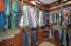 Custom closet with built-ins