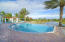 Infinity Community Pool overlooking the beautiful lake