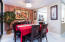 Dining Room with elegant chandelier (incl.)