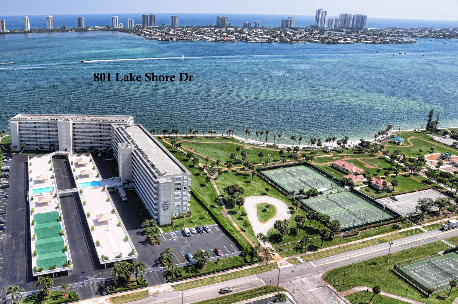 801 Lake Shore Dr  Aerial