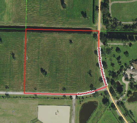 Wellington, Florida 33414, ,Land/docks,For Sale,Sunset,RX-10490940