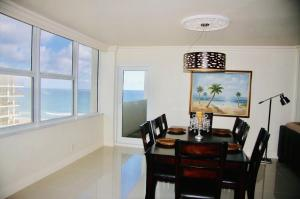 Side View of the Ocean from the Living Area