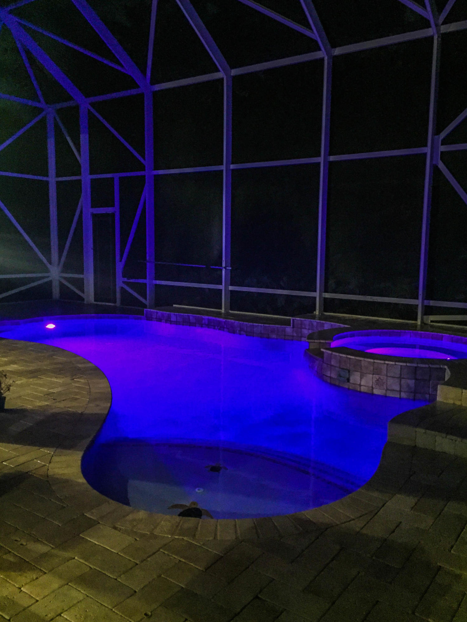 NIGHT TIME POOL