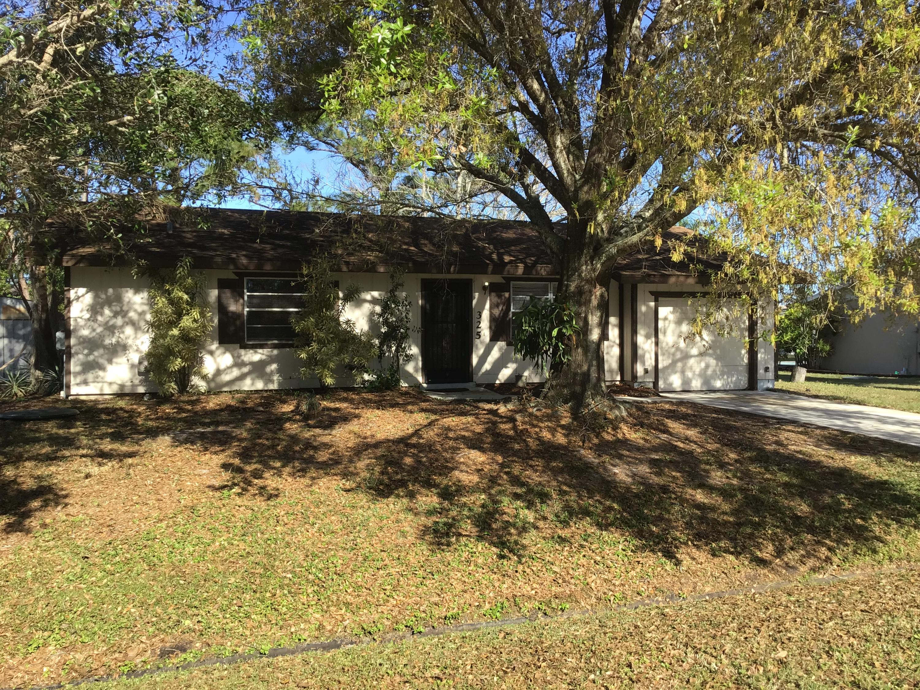 325 Ferris Drive, Port Saint Lucie, Florida 34983, 2 Bedrooms Bedrooms, ,2 BathroomsBathrooms,Single Family,For Sale,Ferris,RX-10496958