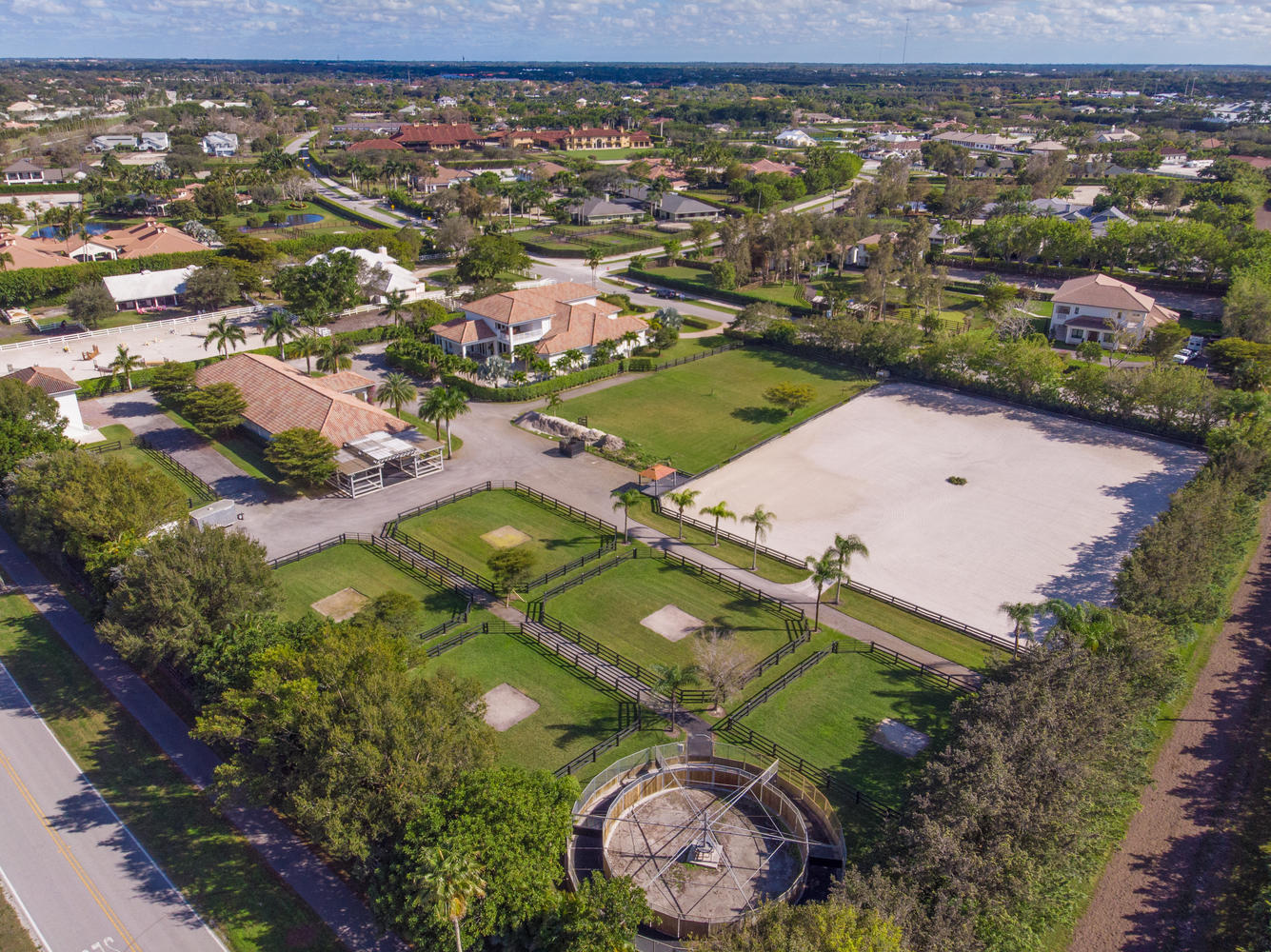 14471 Equestrian Way, Wellington, Florida 33414, 7 Bedrooms Bedrooms, ,7 BathroomsBathrooms,Single Family,For Sale,Equestrian,RX-10500861