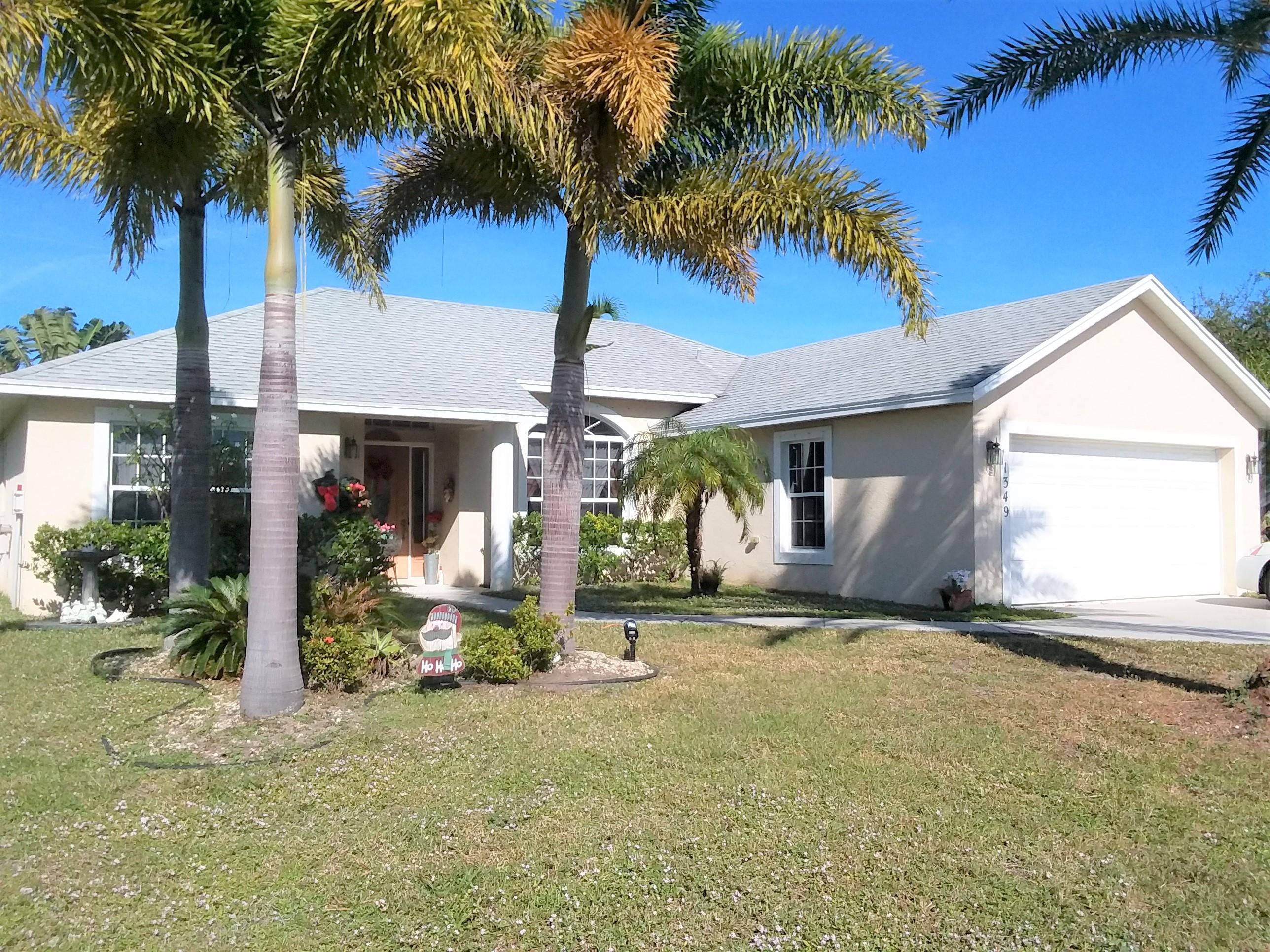 1349 Appamattox Terrace, Port Saint Lucie, Florida 34953, 3 Bedrooms Bedrooms, ,2 BathroomsBathrooms,Single Family,For Sale,Appamattox,RX-10499020