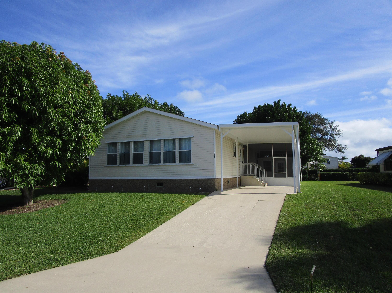 7811 Shenandoah Drive, Hobe Sound, Florida 33455, 2 Bedrooms Bedrooms, ,2 BathroomsBathrooms,Mobile/manufactured,For Sale,Shenandoah,RX-10498925