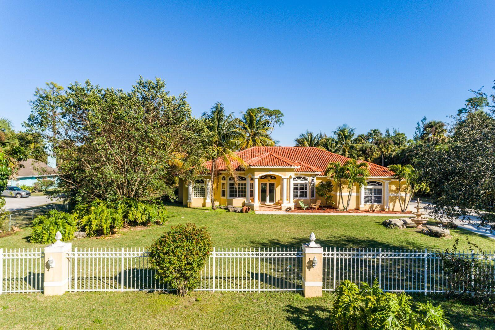 1077 Rosetta Trail, West Palm Beach, Florida 33411, 4 Bedrooms Bedrooms, ,3 BathroomsBathrooms,Single Family,For Sale,Rosetta,RX-10500482