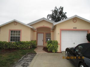 508 Broward Avenue, Greenacres, FL 33463