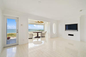 Downstairs bedroom area