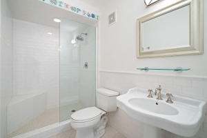 Upstairs guest suite bath