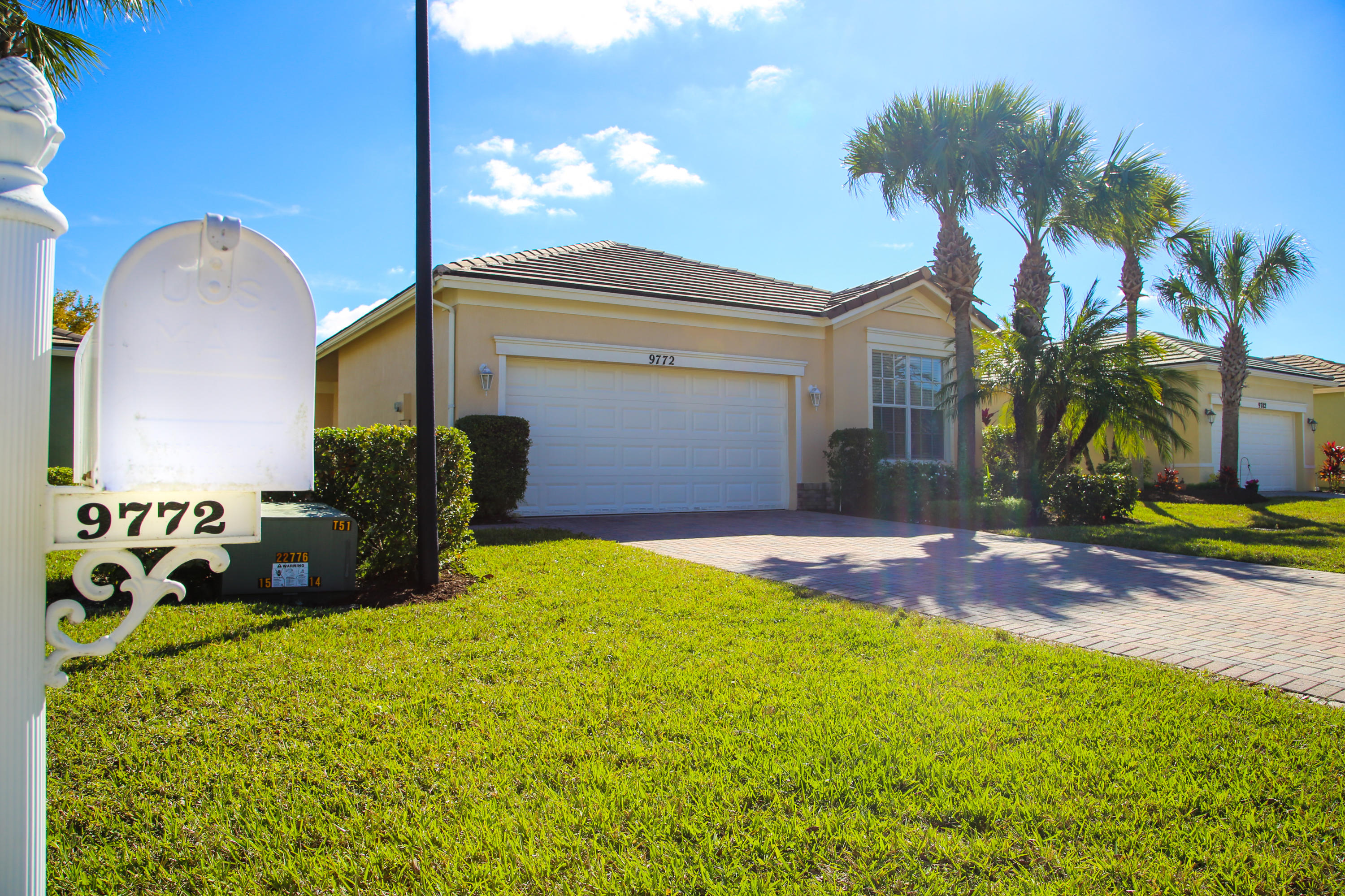 Beautiful 3 bedroom/ 2 bathroom hoe in Heritage Oaks section of Traditions. This home boast new rugs in all bedrooms, tile throughout common areas, white kitchen appliance package, white washer and dryer. Paver driveway and walkway. Priced to sell quickly. All measurements are approximate.