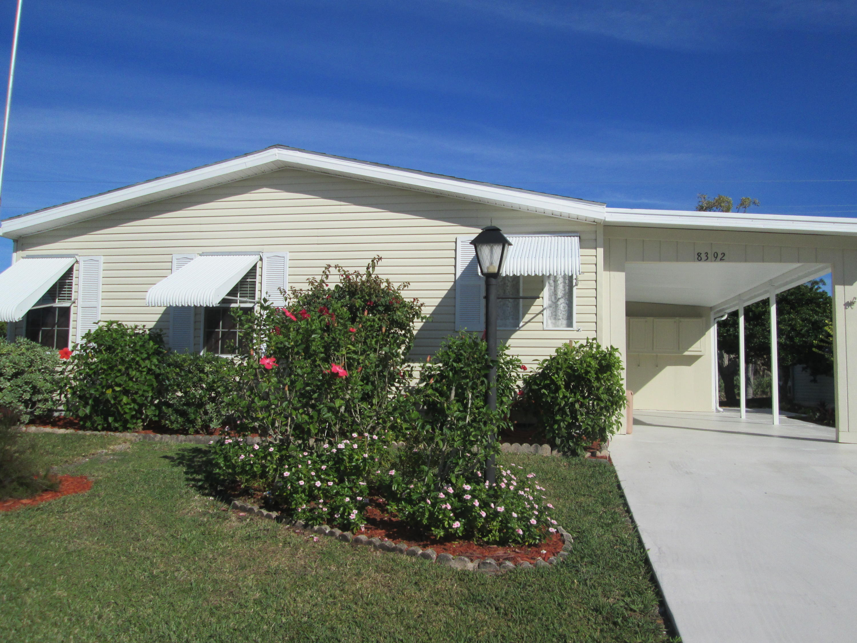 8392 Gallberry Circle, Port Saint Lucie, Florida 34952, 3 Bedrooms Bedrooms, ,2 BathroomsBathrooms,Mobile/manufactured,For Sale,Savanna Club,Gallberry,RX-10502881